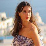Vestido largo en Santorini y App Living in Fashion