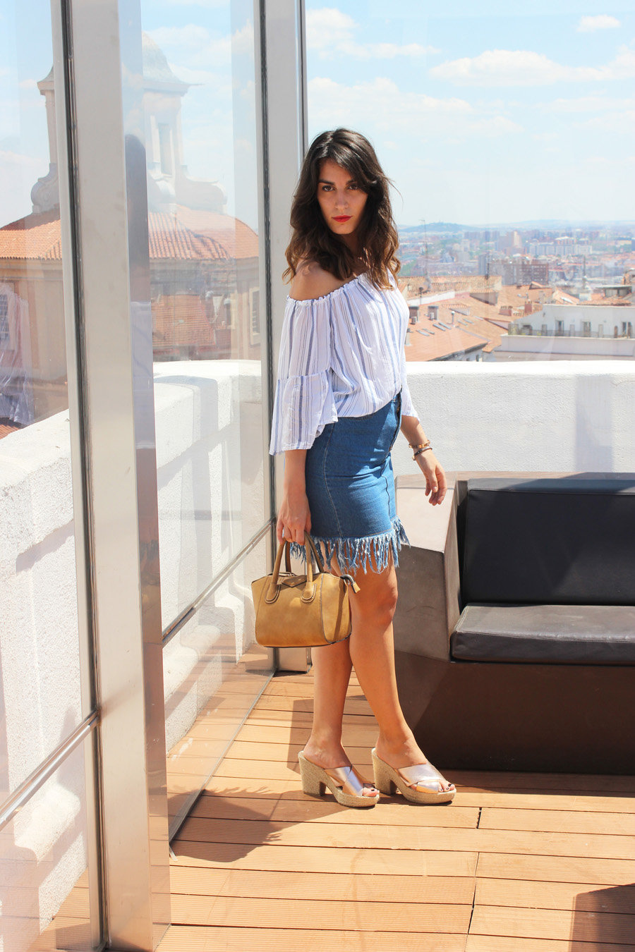 frayed-skirt-look