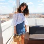 Frayed Skirt: summer trend 2016