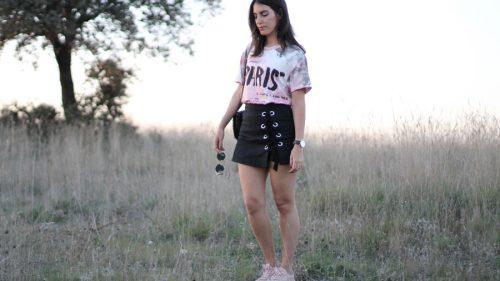 look-falda-pantalon-skort-stradivarius