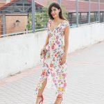 Vestido de flores de verano